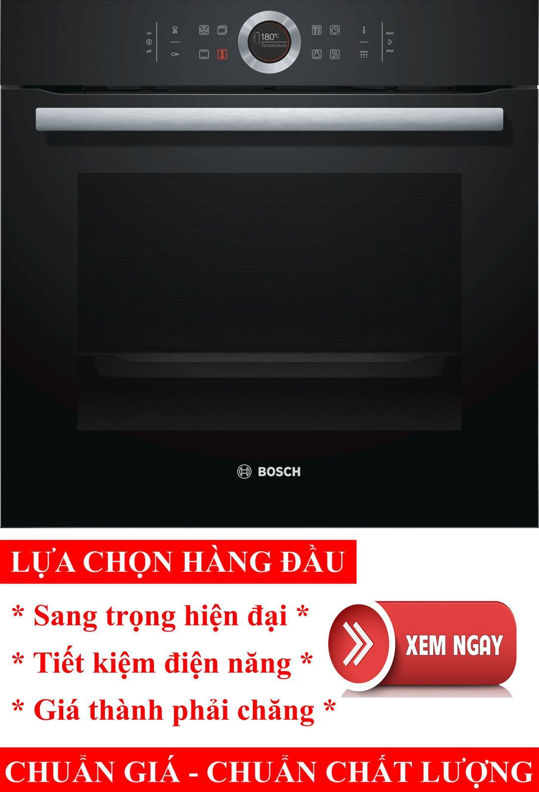 Lò nướng điện đa năng Bosch HBG675BB1, lò nướng điện, lò nướng bánh, lò nướng thủy tinh, lò nướng bánh mì, lò nướng bánh bông lan