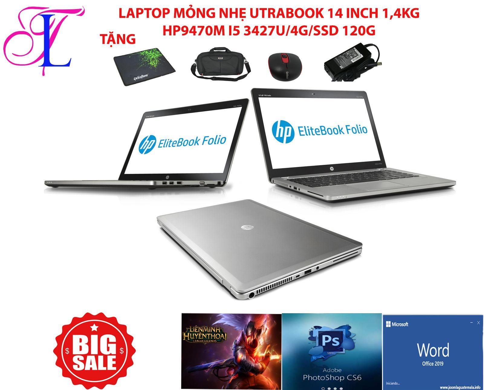 Laptop folio 9470m core i5 hàng nhập khẩu