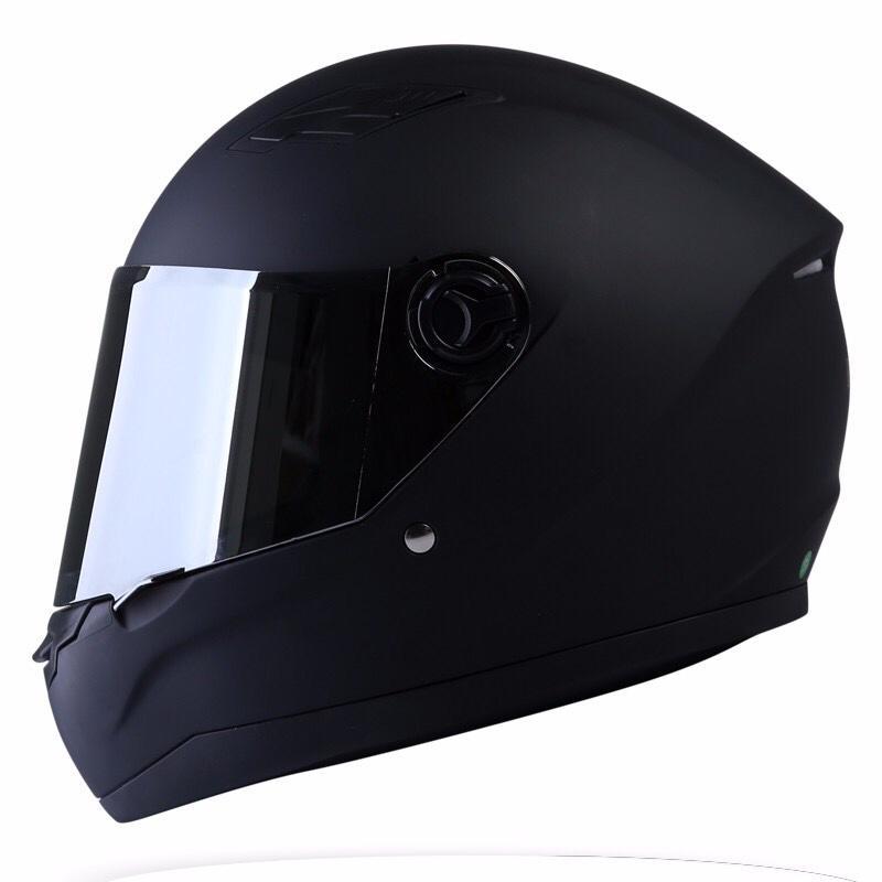 Mũ bảo hiểm Asia M136 đen nhám kính khói