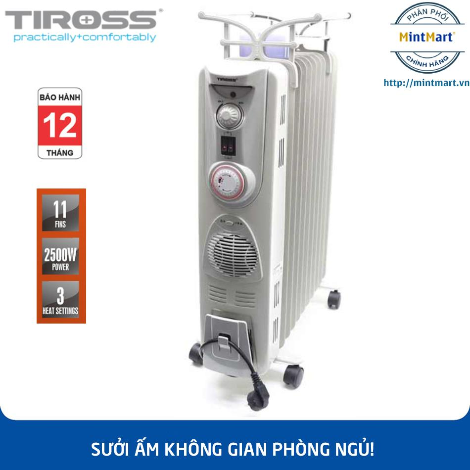 Máy sưởi dầu 11 thanh Tiross TS-920