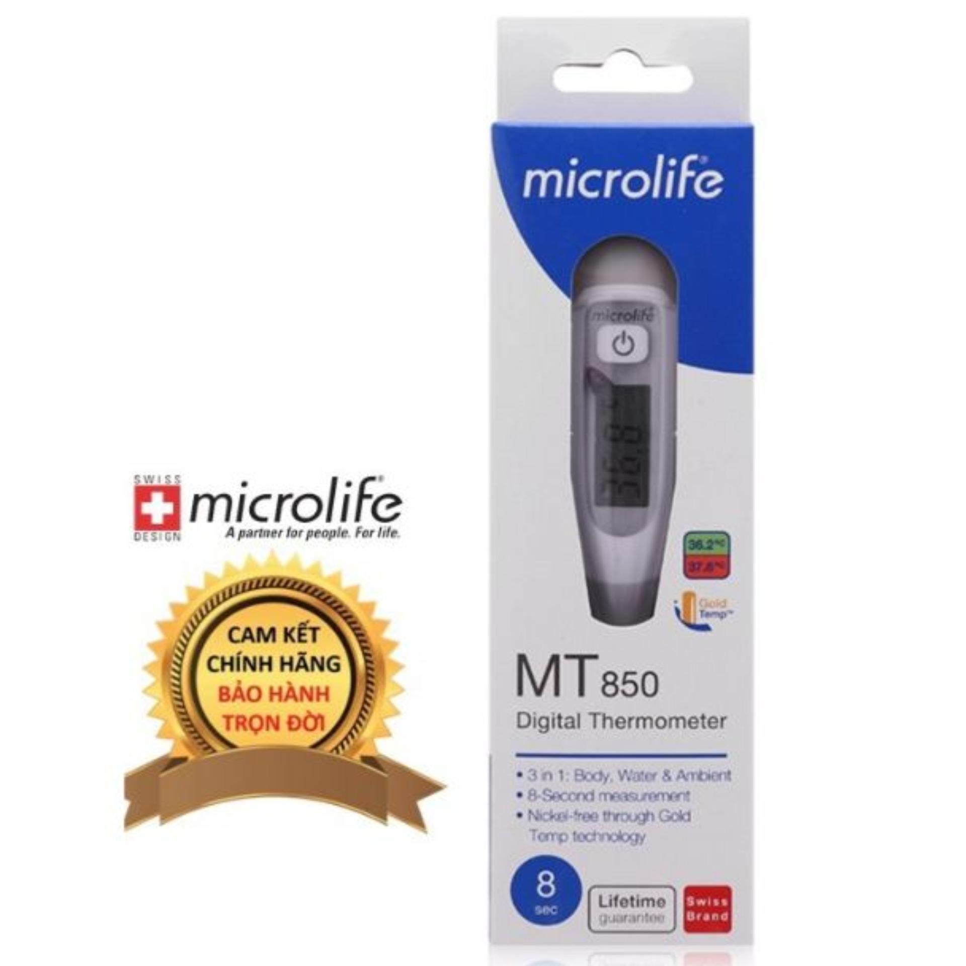 Nhiệt kế điện tử Microlife MT850 (dạng bút)