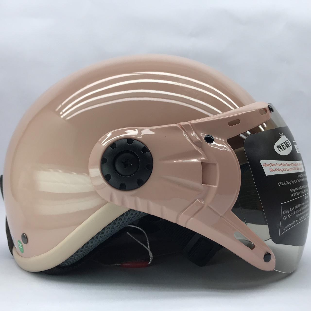 Nón bảo hiểm nửa đầu cao cấp Asia MT105K (Có nhiều mầu - Vui lòng chọn trong phân loại chi tiết