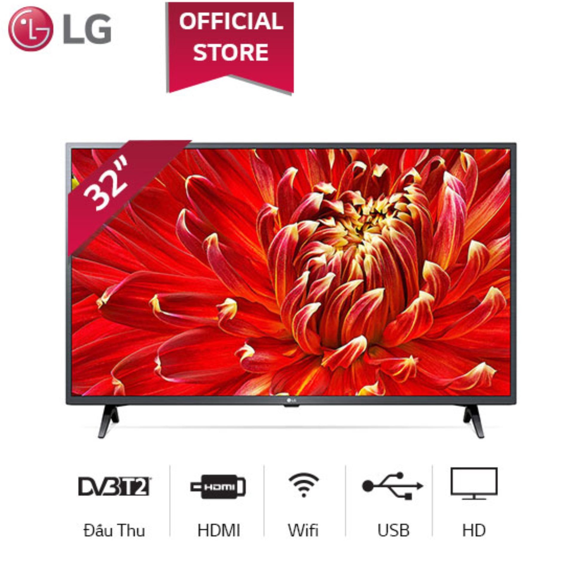 Smart TV LG 32inch HD - Model 32LM630BPTB (2019) Chip xử lý Quad Core Active HDR Dolby Audio - Hãng phân phối chính thức - Kết nối không dây với điện thoại, máy tính bảng