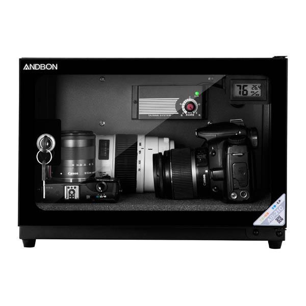 Tủ chống ẩm cho máy ảnh ANDBON AB-21C -dung tích 20 Lít, công nghệ Nhật Bản bảo hành 5 năm