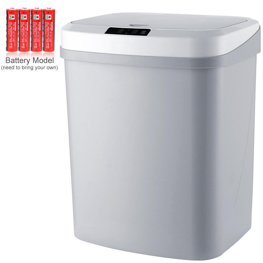 Thùng rác thông minh OrzBuy cảm ứng tự động cho nhà bếp phòng khách phòng Tắm