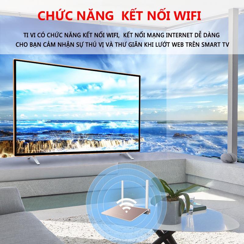 Ti vi màn hình tinh thể lỏng LCD 40 inch HD và 32 inch Smart TV kết nối wifi tv màu TopOne2020