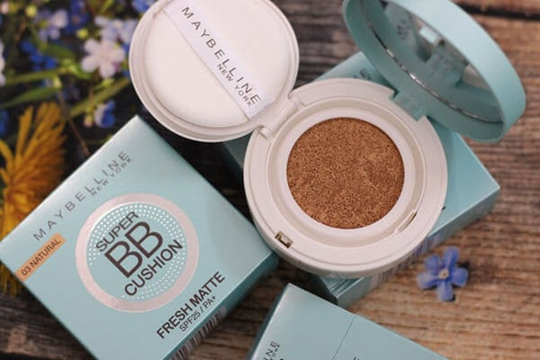 Phấn nước Maybelline Super BB Cushion Fresh Matte SPF