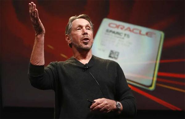 Oracle - công ty của tỷ phú từng hai lần bỏ học
