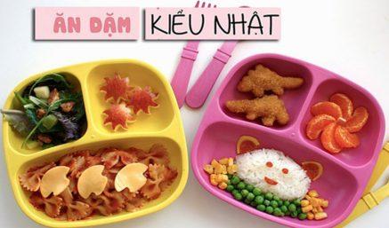 Thực đơn ăn dặm kiểu Nhật cho bé từ 5 - 6 tháng tuổi chi tiết 30 ngày, đầy đủ dinh dưỡng