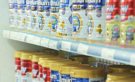 giá các loại sữa bột trên thị trường
