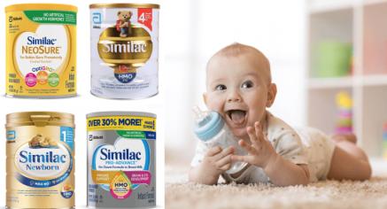 Sữa Similac có mấy loại